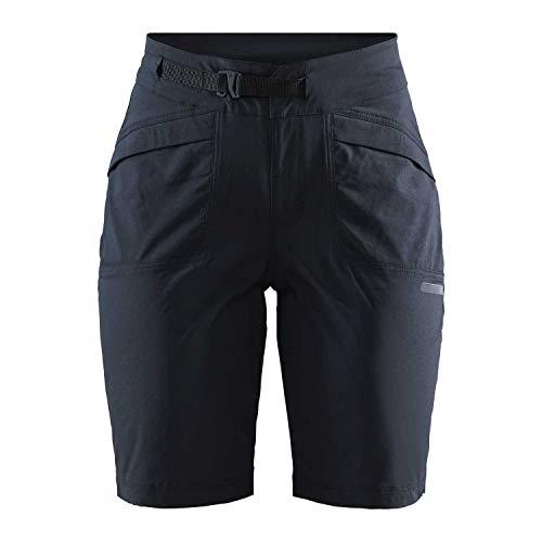 Craft Damen Summit XT Shorts PAD Radhose, Black, M