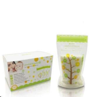 Buy hongxinq Baby Breast Milk Storage Bag, Safe Food Storage Sealed Milk Freezer