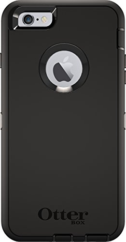 OtterBox DEFENDER iPhone 6 PLUS/6s PLUS Case - Frustration Free Packaging - BLACK