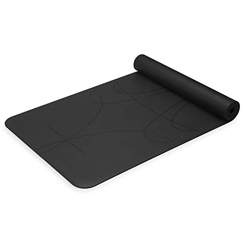 Gaiam Unisex's 05-63747 - Esterilla de yoga (5 mm), color negro