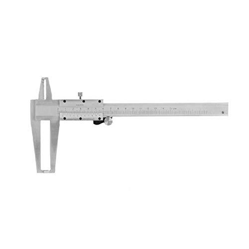 MTCWD Micrómetro calibrador Vernier de Acero al Carbono Dentro de la Ranura Vernier de micrómetro Interior Gauge Regla de medición de Herramienta 150mm
