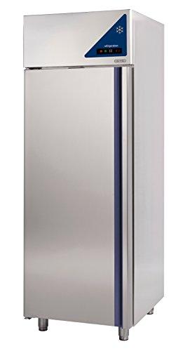 Gastlando - Frigorífico industrial de acero inoxidable de primera calidad - Recirculación - 600 litros - Puerta de acero inoxidable - 0° a +10 °C