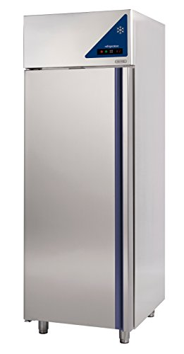 Gast Lando–Premium Acciaio Inossidabile Gewerbe di frigorifero–Convezione–700litri–Porta in acciaio inox–0° fino a + 10°C