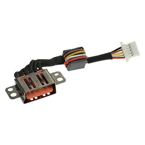 Conector Alimentación Cable Compatible con Lenovo Yoga 3-11 80J8 DC Jack de alimentación, Conector de Carga, Toma de Corriente DC, Puerto de Carga