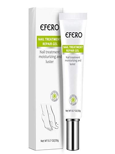 Hukz Fungal Nail Treatment, Effective Anti Fungus Feet Care Gel, Whitening Toe Nail Fungus Removal Repair Essence (white)