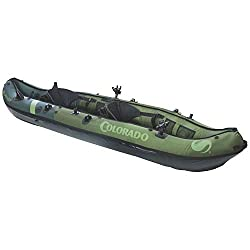small Sevylor Coleman Colorado Two-seater fishing kayak