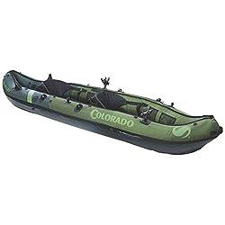 small Sevylor Coleman Colorado Two-seater fishing kayak