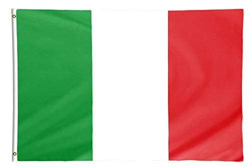 Star Cluster 90 x 150 cm Italien Flagge/Italien Fahne/Fanartikel/Italy National Flag/Bandiera nazionale dell'Italia (IT 90 x 150 cm)
