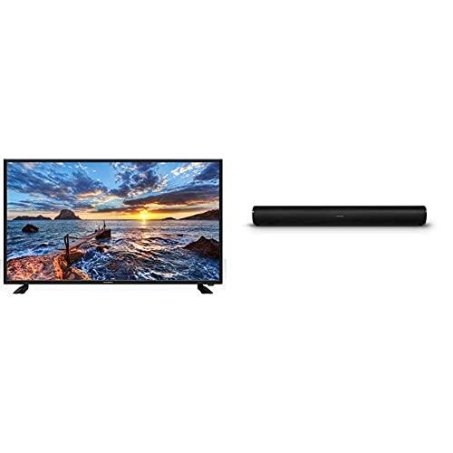 """Schneider TV LED 40"""" Full HD, SC-LED40SC510K, HDMI, USB 2.0, 1920x1080p, Sintonizador DVB-T/T2/C, Negra + Schneider SC300SND, Barra De Sonido 2.0, Tamaño Único, Multicolor"""