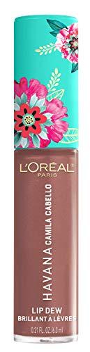 L'Oréal Paris Camila Cabello Lip Dew 03 Desnudo, schimmernder Lipgloss
