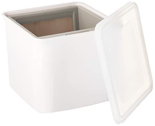 Cuisipro 837426 Joghurt-Käsehersteller, Weiß, 12 x 14 x 14 cm