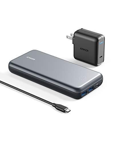 Anker PowerCore+ 19000 PD(19000mAh PD対応 3ポート 超大容量 モバイルバッテリー)【PSE認証済 / 30W US...