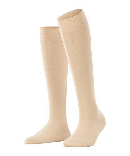 FALKE Damen Cotton Touch W KH Socken, Beige (Cream 4019), 39-42