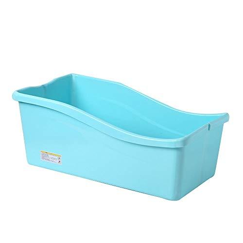 Bathing Tubs Bañera para Adultos Bañera Plegable portátil, Bañera para niños pequeños, Bandeja de Ducha Plegable para Tina Grande para el hogar, Bañera para Adultos Plegable y cómoda