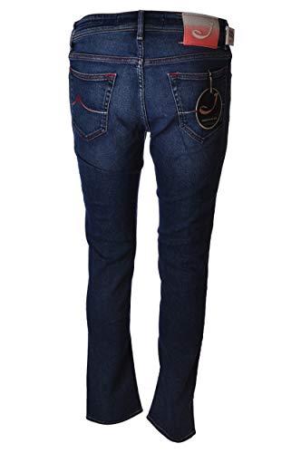 Jacob Cohen Stretch Slim Fit J68800966W3-JeansSalpaDegrade'-003LavMedioScuro, Blau 26
