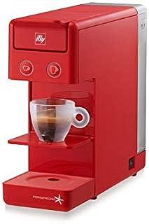 Illy Y3.2 iperEspresso Espresso and Coffee Machine - Red