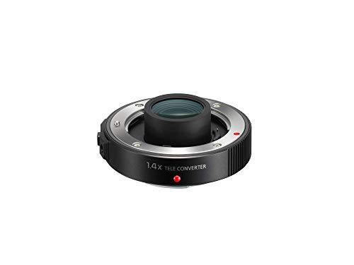 Lumix DMW-TC14E Telekonverter TC14 verlängert Brennweite des Leica 2.8-4.0/50-200 mm, Faktor 1,4 Schwarz