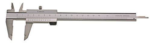 CNC QUALITÄT Taschen- Messschieber - Messbereich 300 mm - parallaxfrei - mit Feststellschraube