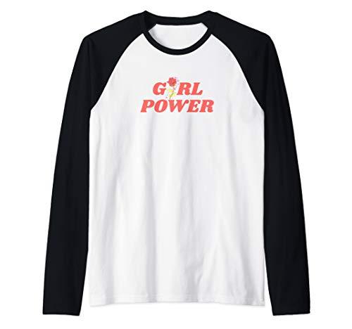 Girl Power GRL Feministin Gleichberechtigung Inspirierend Raglan