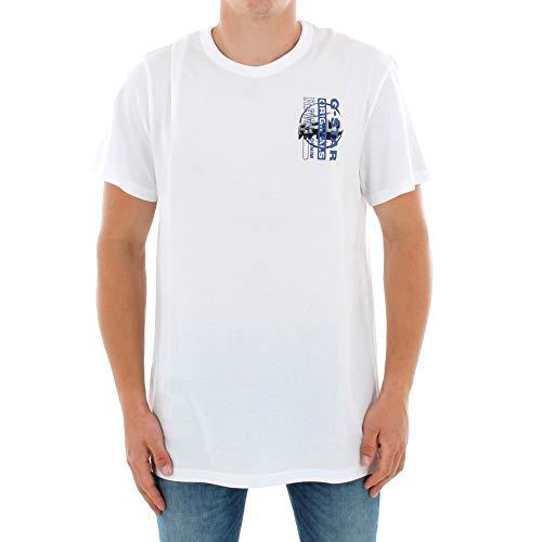 Camiseta G-Star Hombre Blanco ZB Graphic 4 R T SS