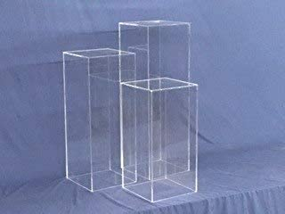 Clear Square Acrylic Display Cube, 36 Inch