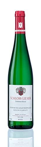 Weingut Schloss Lieser Schloss Lieser Goldtröpfchen Riesling Kabinett Mosel 2020 Wein (1 x 0.75 l)