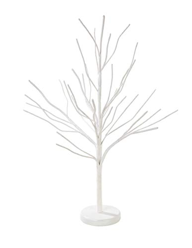 Talking Tables Mix and Match Versatile Wire Tree Decoration for Christmas, Wedding and Party Celebrations, White