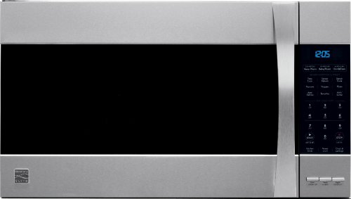 Kenmore 80373 Elite convection Stainless Steel Microhood Combinations Over-the-Range Microwave (1.8 Cu Ft, 1050 Watts)