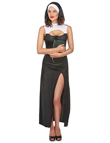 Generique - Costume Suora Sexy Donna Taglia UnicaCostume Suora Sexy Donna Taglia Unica