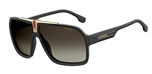 Carrera Sport 1014/S Gafas, BLACK/BW BROWN, 64 Hombres