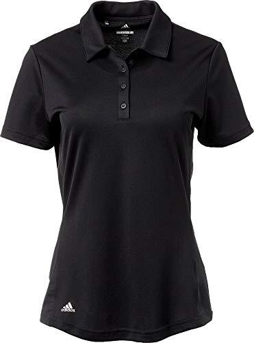 adidas Advantage - Polo de Golf para Mujer, XL, Negro