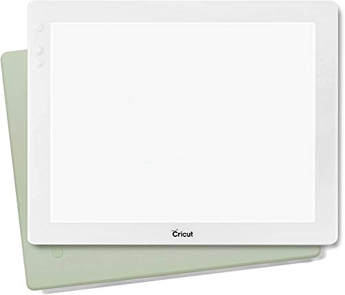 Cricut Bright Pad Portable Tracing Light Box for Tracing Sketching amp Drawing Weeding Quilting  Mint Green