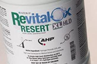 Revital-Ox RESERT Hydrogen Peroxide High-Level Disinfectant, RTU Liquid 4 Liter Container Max 21 Day Reuse, 4455AW - Case of 4