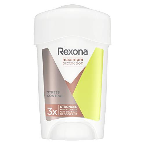 Rexona Maximum Protection Anti-Transpirant Cremestick für langanhaltende Frische Stress Control, 48-Stunden-Schutz (1 x 45 ml)