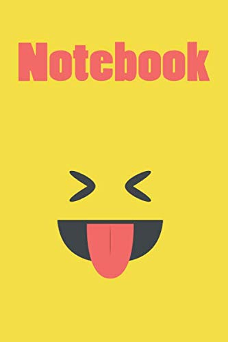 Emoticon Notebook - Emoji Notebook - to-do List - Reward Notebook, Party Favor for Boys and Girls: Emoticon Notebook size 6X9 120 page