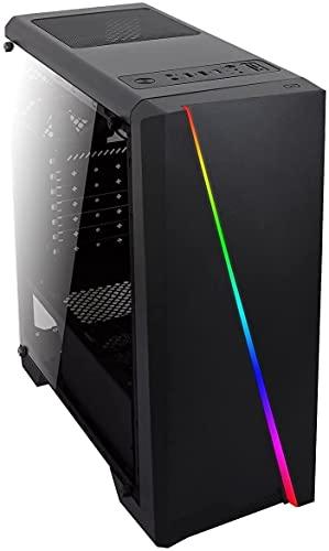 JOYBE COMPUTERS • pc Gaming AMD Ryzen 5 • 3.60 GHz • 6 Nucleos • Ram 8 GB • Ssd 240 GB + 1 TB • Nvidia GT 1030 • WiFi • Windows 10 • Juegos pc