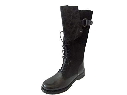 Lazamani Damen Boot- Stiefel 74433 Black Größe 39 (39 EU)