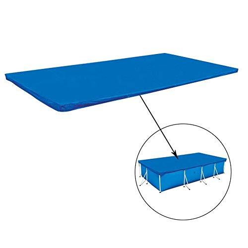 CSPone | Abdeckplane Pool rechteckig für Frame Pool, Poolabdeckung, Abdeckung für Schwimmbad, Regenschutz, Blau (260 * 160CM)