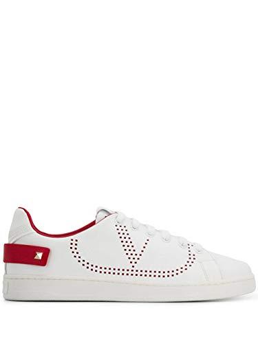 Luxury Fashion | Valentino Garavani Dames TW2S0M20DYHDS5 Wit Leer Sneakers | Seizoen Permanent