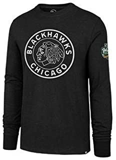 '47 Chicago Blackhawks 2019 Winter Classic Official Long Sleeve Club Tee 2 - Adult