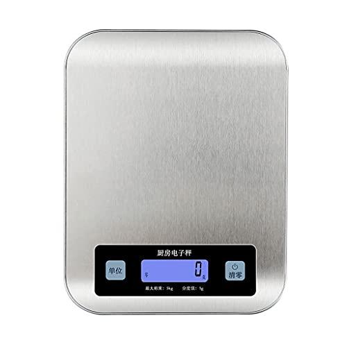 Dzwyc Galia a Prueba de Agua a Prueba de Agua a Prueba de Agua a Prueba de Agua a Prueba de Agua LCD Mostrar fácil de Limpiar (Color : Battery Style, tamaño : 10kg/1g)