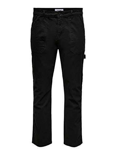 ONLY & SONS Male Hose Workwear 3230Black