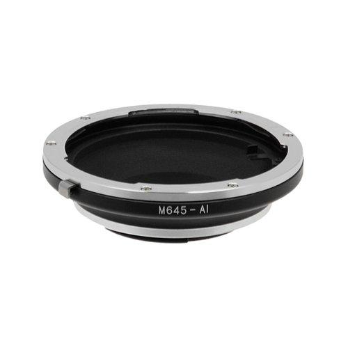 Fotodiox Anello Adattatore Professionale per Mamiya 645, M645 Obiettivo a Fotocamera Nikon
