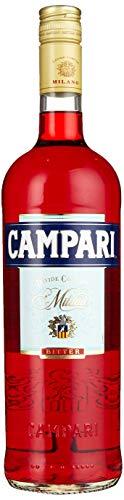 Campari Bitter Aperitif 100cl (1 Liter) Alc. 25% Vol. - Eine Legende, ein Stück italienischer Lebensart!