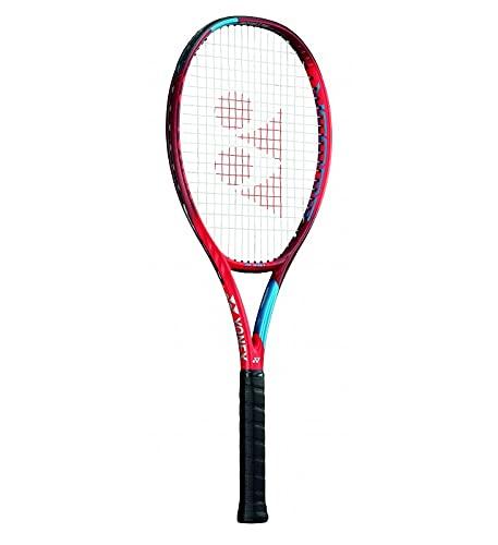 YONEX New Vcore 98 Tango Red Incordata: No 305G Racchette da Tennis Racchette da Torneo Rosso - Blu 3