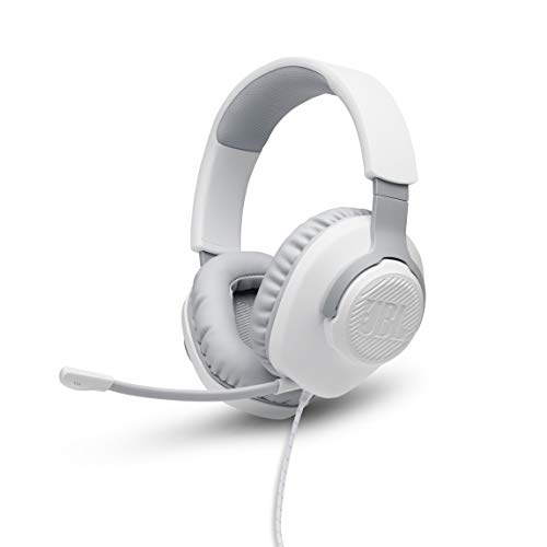 JBL Quantum 100 Auriculares para gamers con sonido QuantumSOUND, micrófono Boom y,...