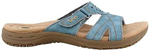 Earth Origins Women's, Selby Slide Sandal Blue 8 M
