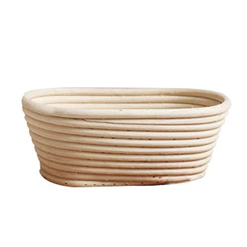 Demarkt Germentatiemandje, duurzame gistmand, natuurlijk rotan, brooddeeg, broodvorm, broodmandje, rond, handgemaakt rotan, brood, fermentatie, mand voor gisting
