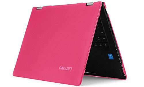 mCover Hartschalen-Schutzhülle für Lenovo Yoga C740 (14) Serie 2-in-1 Laptop (35,6 cm / 14 Zoll), Rosa