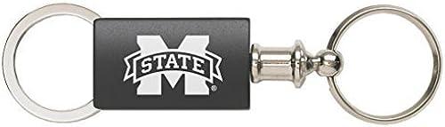 punto de venta barato Mississippi State University - Anodized Anodized Anodized Aluminum Valet Key Tag - negro by LXG, Inc.  punto de venta en línea